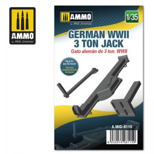 Ammo Mig Jimenez German WWII 3 ton Jack