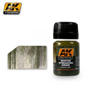 AK Interactive Streaking Grime for winter vehicles