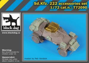 Black Dog Sd.Kfz. 222 Accessories Set