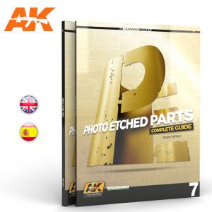 AK Interactive PHOTOETCH PARTS (AK LEARNING SERIES Nº7) English