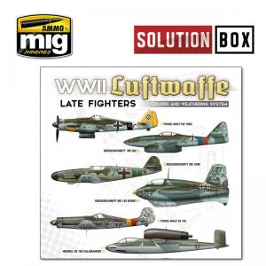 Ammo Mig Jimenez LUFTWAFFE LATE WAR SOLUTION BOX