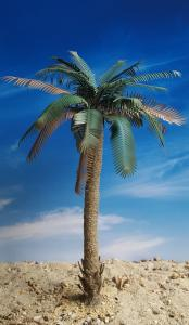Reality in Scale Partly Untrimmed Palm - contains resin trunk, scatter, wire, instructions a