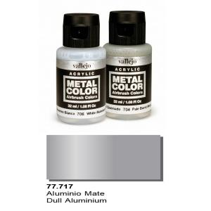 Vallejo Metal Color, Dull Aluminium, 32ml.