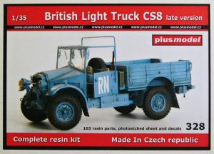 "Plus Model British Light Truck CS8 ""Late Version"""