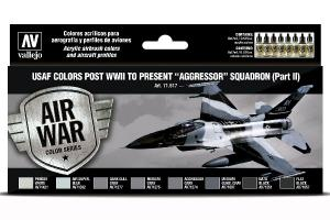 "Vallejo USAF colors post WWII to present ""Aggressor"" Squadron (Part II)"