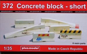 Plus Model Concrete Block - Shot