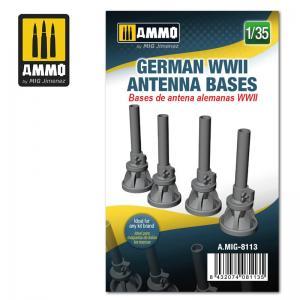 Ammo Mig Jimenez German WWII Antenna Bases