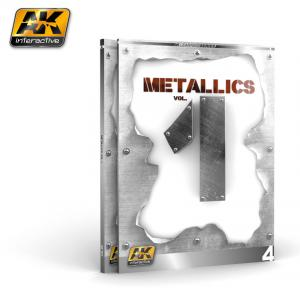 AK Interactive METALLICS VOL 1 (AK LEARNING SERIES Nº 4) English