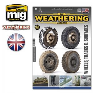 Ammo Mig Jimenez The Weathering Magazine #25, Wheels, Tracks & Surfaces