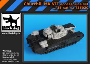 Black Dog Churchill Mk.VII - Accessory Set (TAM)