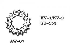 Friulmodel KV-1/KV-2/SU-152 - Drive Sprockets