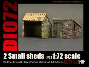 Reality in Scale Small sheds #2