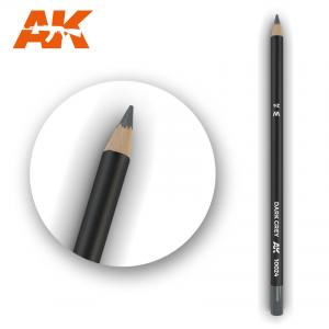 AK Interactive Watercolor Pencil Dark Grey