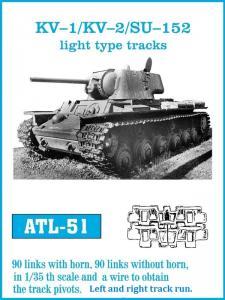 Friulmodel KV1/KV2 - Track Links