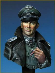 Young Miniatures SS Totenkopf Officer WWII - Bust