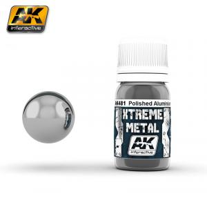 AK Interactive XTREME METAL POLISHED ALUMINIUM