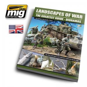 Ammo Mig Jimenez Landscapes of War: The Greatest Guide - Dioramas vol. 1