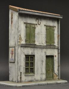 Reality in Scale French House - 4 resin pieces and posters