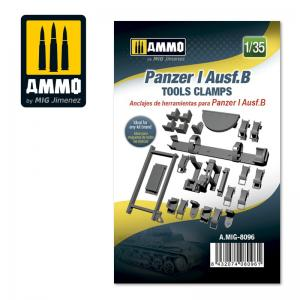 Ammo Mig Jimenez Pz.Kpfw. I Ausf. B - Tools Clamps
