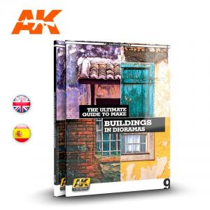 AK Interactive AK LEARNING 9 GUIDE TO MAKE BUILDINGS IN DIORAMAS English