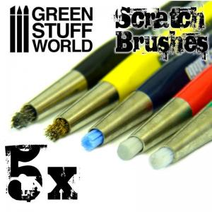 Green Stuff World Scratch Brush Set