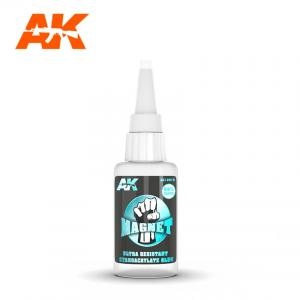 AK Interactive MAGNET ULTRA RESISTANT CYANOCRYLATE GLUE