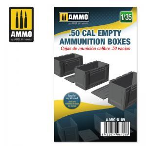 Ammo Mig Jimenez .50 cal Empty Ammunition Boxes
