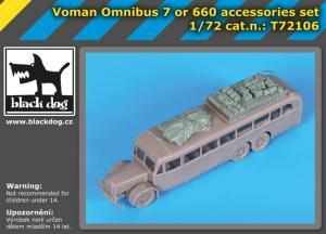 Black Dog Voman Omnibus 7 or 660 accessories set