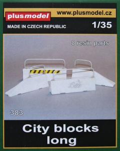 Plus Model City Concrete Blocks - Long