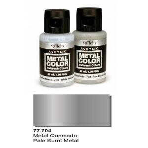 Vallejo Metal Color, Pale Burnt Metal, 32ml.