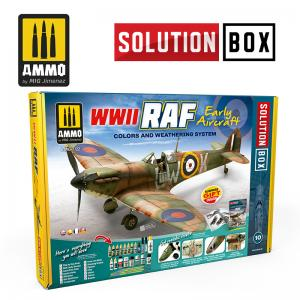 Ammo Mig Jimenez WWII RAF Early Aircraft - Solution Box