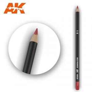 AK Interactive Watercolor Pencil Red Primer