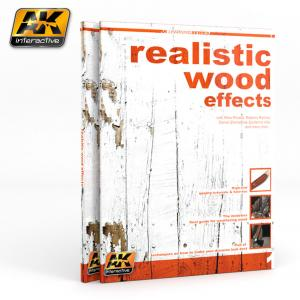 AK Interactive REALISTIC WOOD EFFECTS (AK LEARNING SERIES Nº1) English