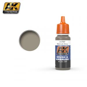 AK Interactive Medium Grey 17ml