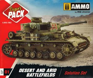 Ammo Mig Jimenez DESERT & ARID BATTLEFIELDS