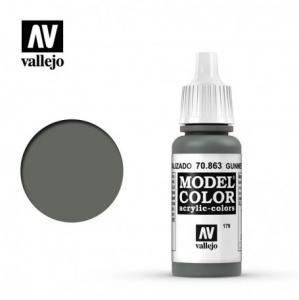 Vallejo Model Color 179 - Gunmetal Grey