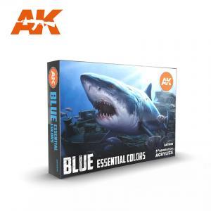 AK Interactive Blue Essential Colors