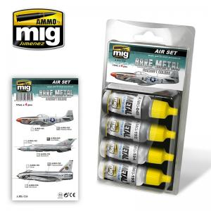 Ammo Mig Jimenez Bare Metal Aircraft Colors