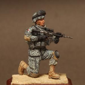 Soga Miniatures American soldier in patrol group