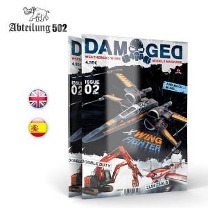 Abteilung 502 DAMAGED, Worn and Weathered Models Magazine - 02 (English)