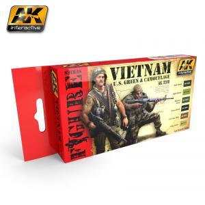 AK Interactive VIETNAM U.S. GREEN & CAMOUFLAGE