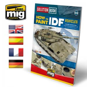 Ammo Mig Jimenez IDF Vehicles Solution Book