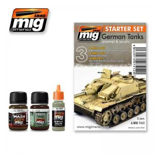 Ammo Mig Jimenez German Tanks, Starter Set.