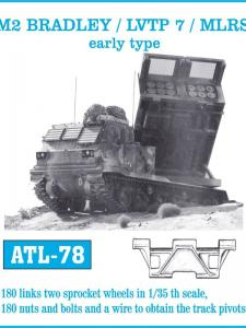 Friulmodel M2 Bradley LVTP7 MLRS early type - Track Links