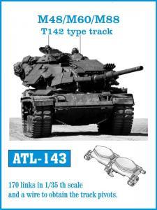 Friulmodel M-48 / M-60 / M-88 T142 type track - Track Links