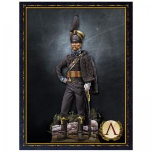 Scale75 HUSSAR OFFICER,BRUNSWICK 1815