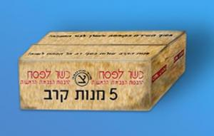 Plus Model Combat Rations Boxes, Israel