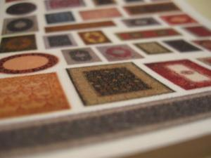Reality in Scale Small Carpets on Real Cloth