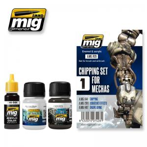Ammo Mig Jimenez Chipping Set For Mechas