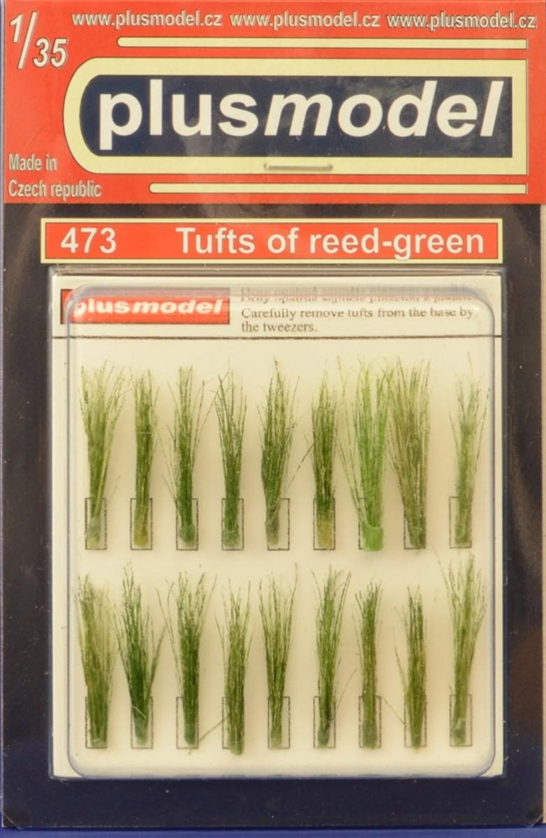 Plus Model Tufts of reed (green)